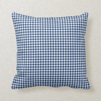 Almohada de la guinga en azul del Sodalite