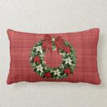 Almohada de la guirnalda del navidad