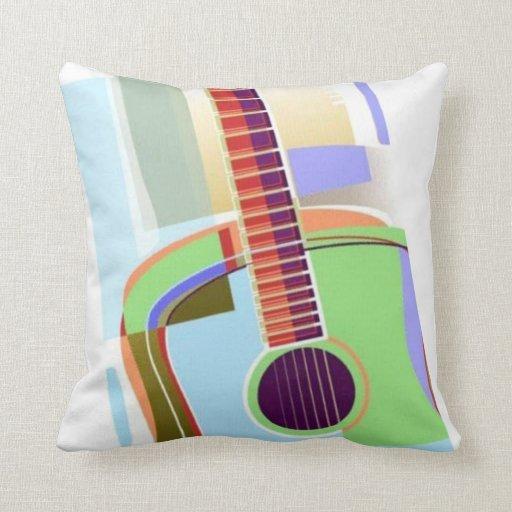Almohada de la guitarra