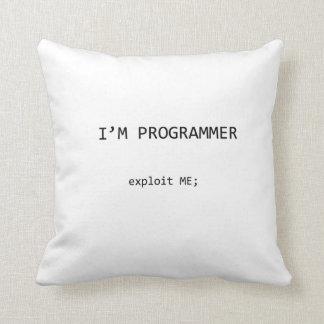 almohada de la hazaña del programador