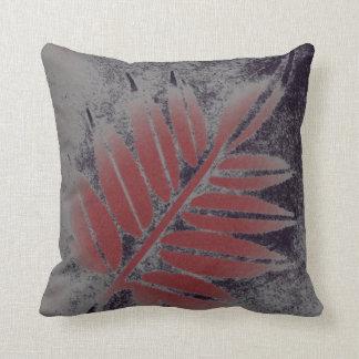 Almohada de la hoja de la baya del saúco