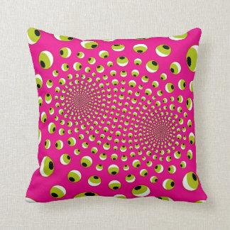 almohada de la ilusión óptica