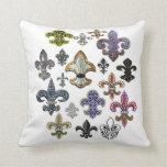 Almohada de la joya de Flor New Orleans de la flor Cojín Decorativo