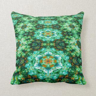 Almohada de la mandala de la alfombra de la Atlánt
