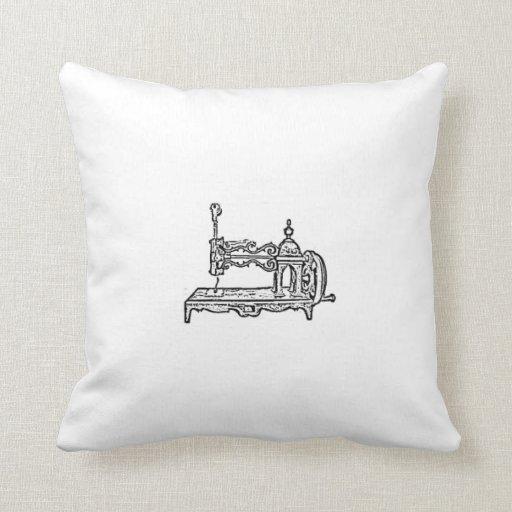 almohada de la máquina de coser del vintage