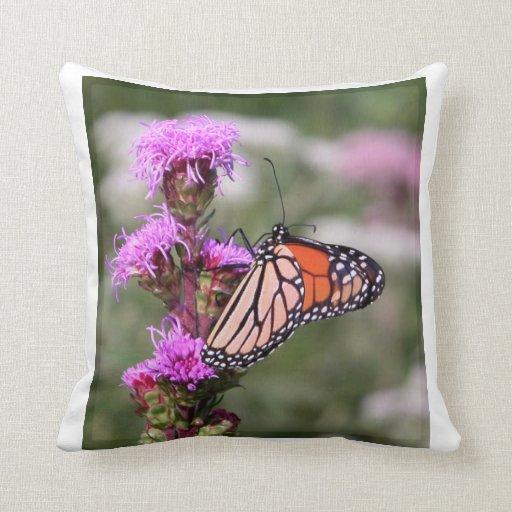 Almohada de la mariposa de monarca