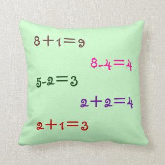 Almohada de la matemáticas
