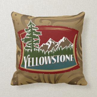 Almohada de la montaña de Yellowstone