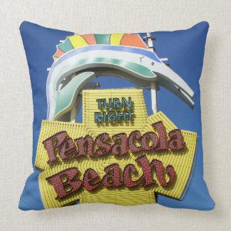 Almohada de la muestra de la playa de Pensacola