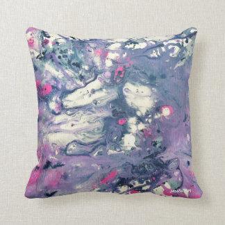 Almohada de la nebulosa cojín decorativo