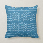 Almohada de la onda del sueño del REM (azul)