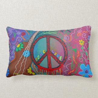 Almohada de la paz y del amor