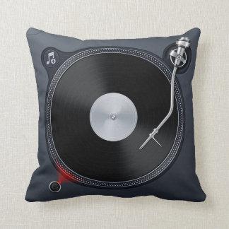 Almohada de la placa giratoria de DJ