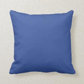 Almohada de la polca de la puesta del sol del añil