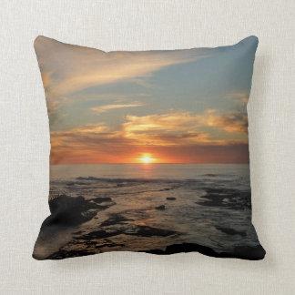 Almohada de la puesta del sol de San Diego