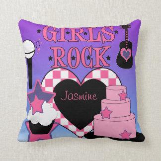 Almohada de la roca de los chicas