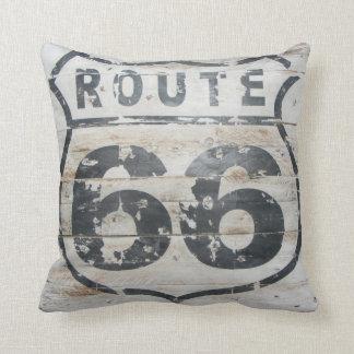 ¡Almohada de la RUTA 66! Cojín