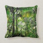 Almohada de la selva tropical