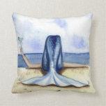 Almohada de la sirena de Margarita de la playa