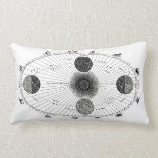 Almohada de la Sistema Solar del vintage