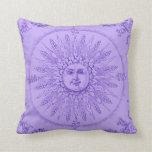 Almohada de la sol de Lavendar