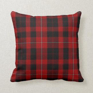 Almohada de la tela escocesa de tartán de cojín decorativo