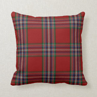 Almohada de la tela escocesa de tartán de MacFarla