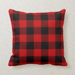 Almohada de la tela escocesa del Masai