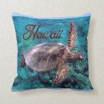 Almohada de la tortuga de Hawaii