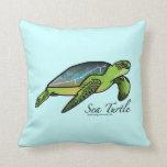 Almohada de la tortuga de mar