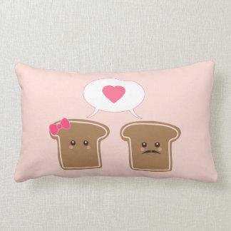 Almohada de la tostada de Kawaii