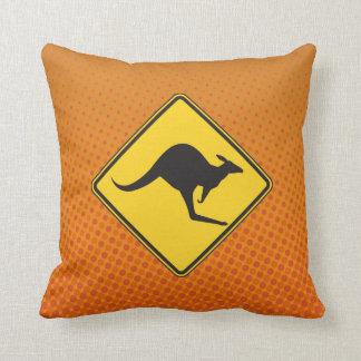 Almohada de la travesía del canguro