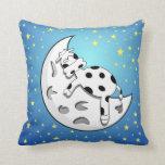 Almohada de la vaca de la luna
