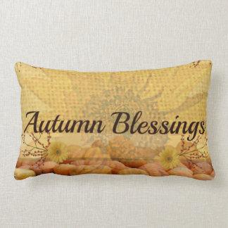 Almohada de las bendiciones del otoño cojín lumbar