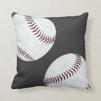almohada de las bolas del béisbol del grunge