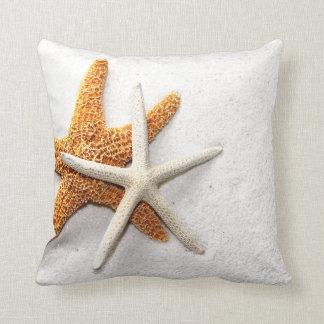 Almohada de las estrellas de mar cojín decorativo