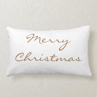 Almohada de las Felices Navidad