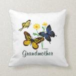 Almohada de las mariposas de la abuela