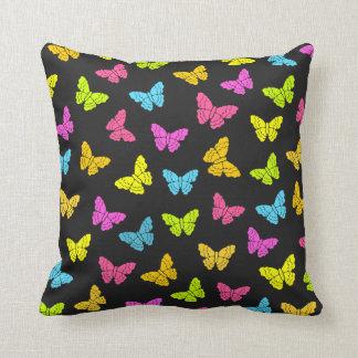 Almohada de las mariposas del arco iris