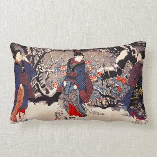 Almohada de las mujeres de Kuniyoshi tres