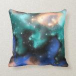 Almohada de las nebulosas 2 del fractal