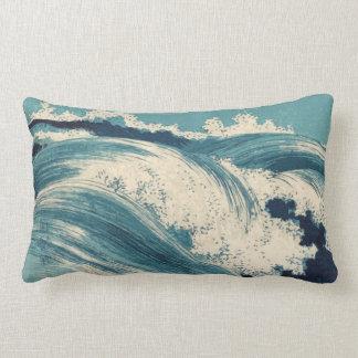 Almohada de las olas oceánicas