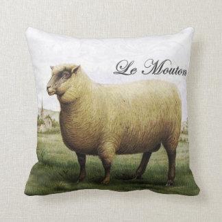 Almohada de las ovejas del vintage