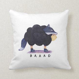 Almohada de las ovejas negras de Baaad Baaad
