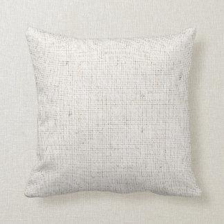 Almohada de lino ligera del fondo