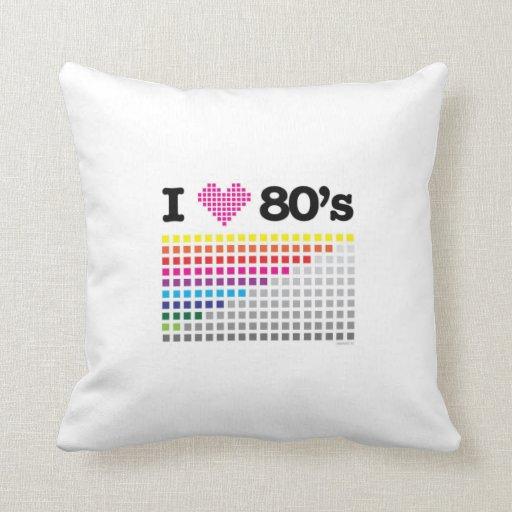 almohada de los años 80