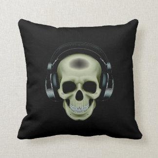 Almohada de los auriculares del cráneo