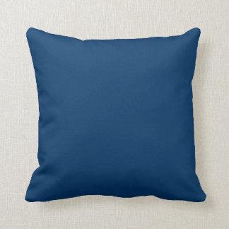 almohada de los azules marinos