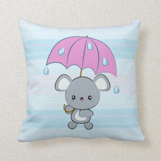 Almohada de los días lluviosos del ratón y del par