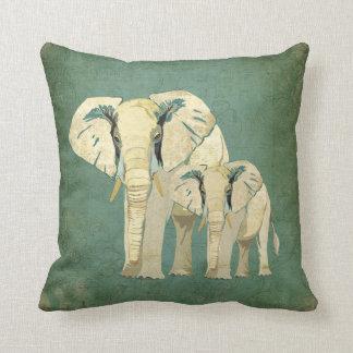 Almohada de los elefantes blancos